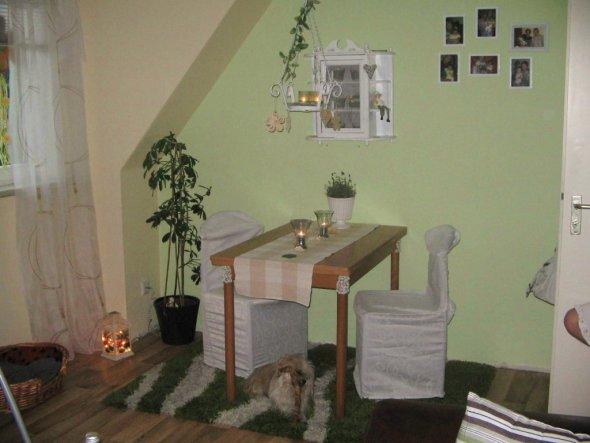Wohnzimmer Wohn-Esszimmer - Unsere kleine Wohnung ...