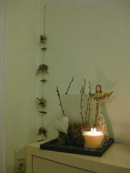 Weihnachtsdeko 'Advent Advent 2010'