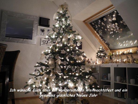 Weihnachtsdeko In Silber Und Weiß.Weihnachtsdeko Mein Zuhause Von Karin2710 30059 Zimmerschau
