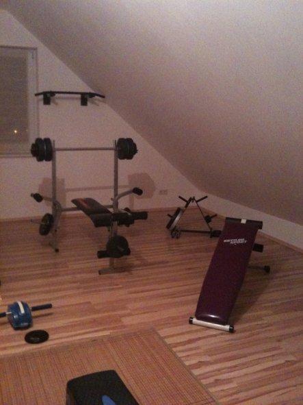 Hobbyraum 'Fitnessraum'