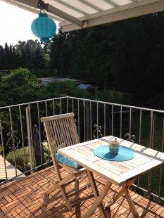 'Balkon' von Graustufen...