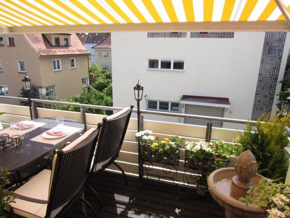 "Terrasse / Balkon '""Frühlingserwachen""'"