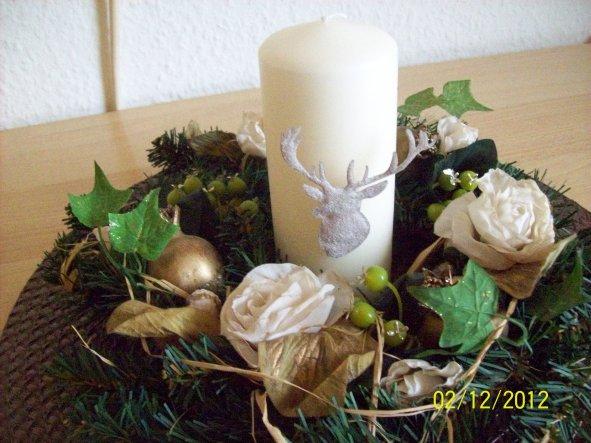 Weihnachtsdeko 'Weihnachten 2012'