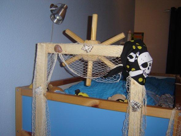 Piraten deko kinderzimmer  Kinderzimmer 'Piraten-Kinderzimmer' - Unser kleines Häuschen ...