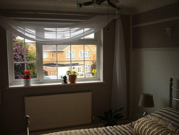 schlafzimmer 39 das g stezimmer 39 unser domizil zimmerschau. Black Bedroom Furniture Sets. Home Design Ideas
