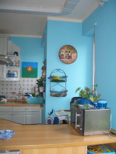 Blaue Küche küche blaue küche sternchen s welt zimmerschau
