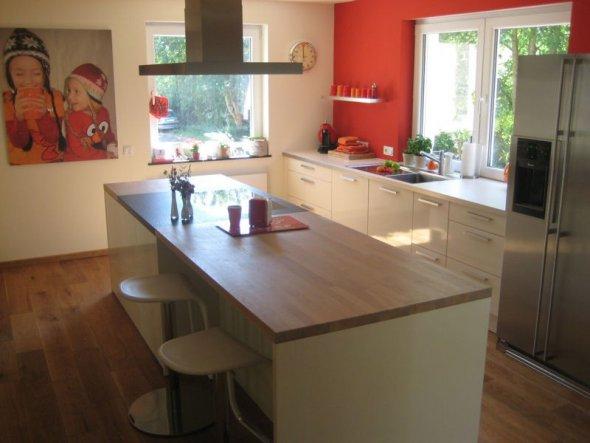 Schöne küchen mit insel  Küche 'Offene Insel-Küche' - Selbstrenoviertes 50er-Jahre-Haus ...