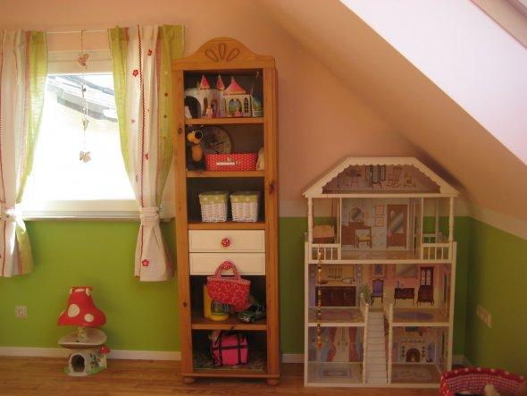 kinderzimmer 'rosa-grüner mädchentraum' - selbstrenoviertes 50er ... - Kinderzimmer Rosa Rot