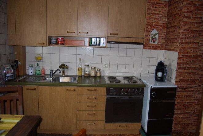 Küche 'Übergangsküche'