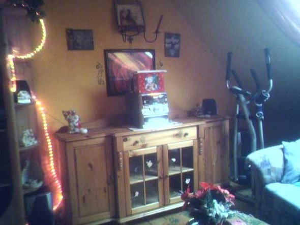 Die andere Seite des Wohnzimmers