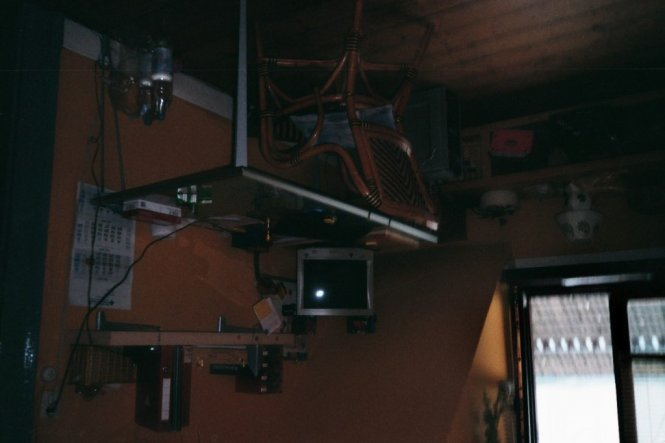 Das war mein Schreibtisch im Büro