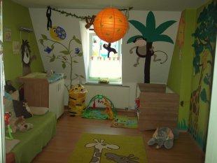 Dschungel- Kinderzimmer