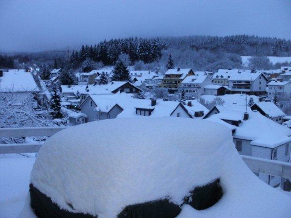 Hausfassade / Außenansichten 'Winterwonderland'
