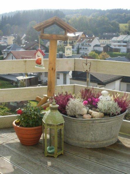 Terrasse  Balkon ღGoldener Herbst 2011ღ  Alles ist gut