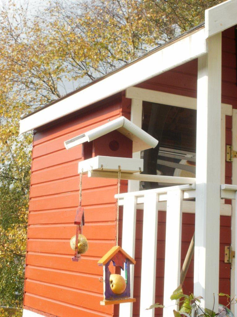 Terrasse balkon 39 goldener herbst 2011 39 alles ist gut zimmerschau - Vogelfutterhaus bausatz ...
