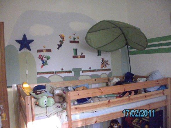Kinderzimmer 'Kevin´s Mario zimmer'
