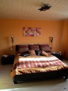 Alptraum-Schlafzimmer vor der Renovierung