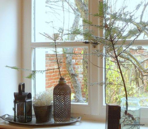 Deko U002639Dekoideen U002639 Unser Haus Zimmerschau Wohnzimmerfenster