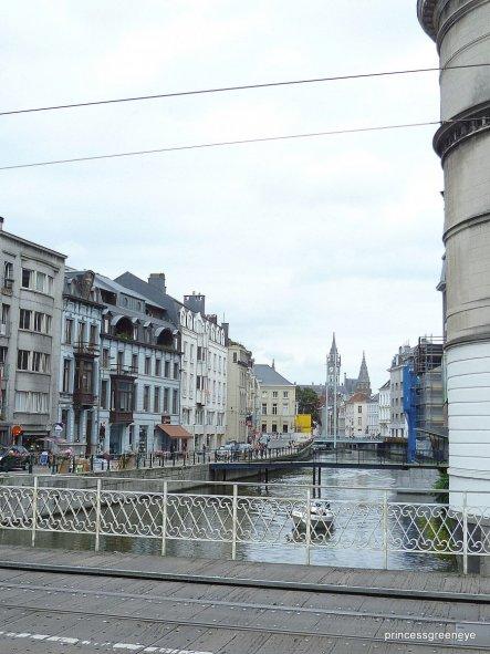 Auf der Rückfahrt aus Frankreich haben wir Pause in Gent gemacht.....