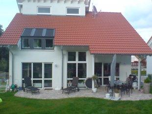 Hausfassade / Außenansichten 'Außenansicht-Gartenseite'