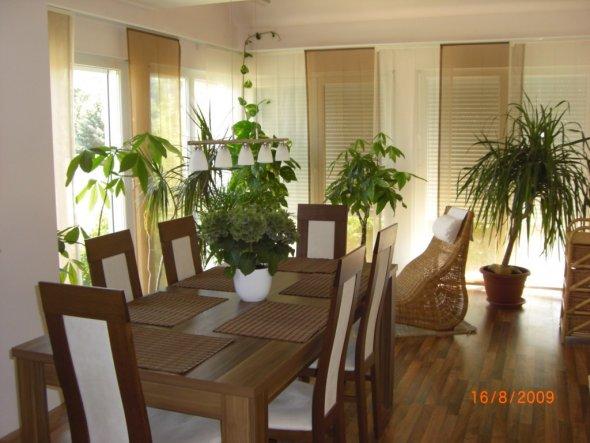 esszimmer 39 das esszimmer wintergarten 39 unser haus am hang zimmerschau. Black Bedroom Furniture Sets. Home Design Ideas