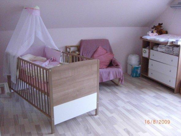Kinderzimmer 'Zimmer unserer Tochter'