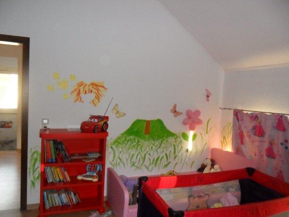 Kinderzimmer 'Kinderzimmer (Schlafzimmer Cars & Prinzessin Lillifee) '