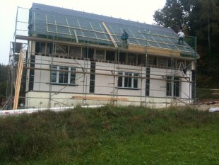 Häuschenbau2010