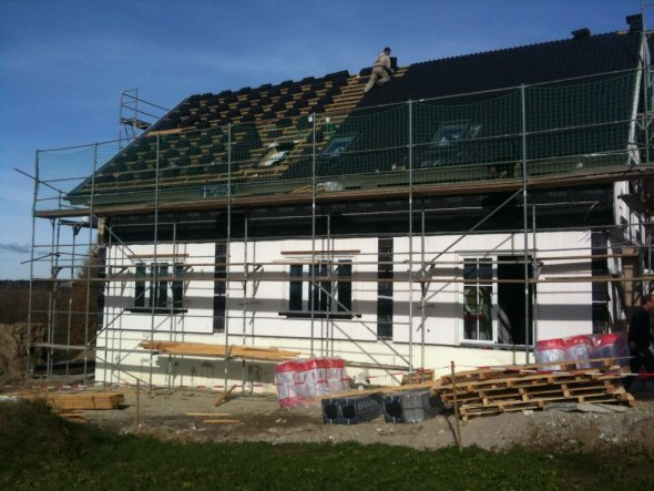 Hausfassade / Außenansichten 'Häuschenbau2010'