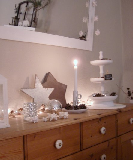 Weihnachtsdeko 'God Jul 2011'
