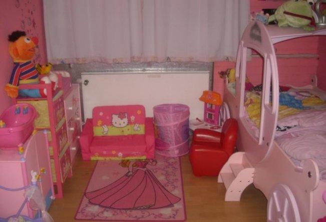 Kinderzimmer 'Rosa Mädchentraum'