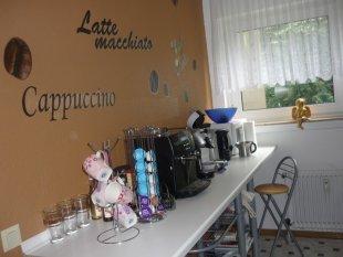 Meine Küche, Kaffeebar und Ess-Niesche