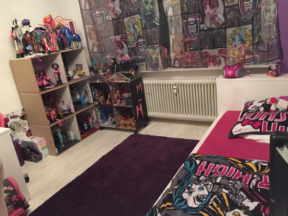 Niedlich Fototapete Kinderzimmer Monster High Fotos - Das Beste ...