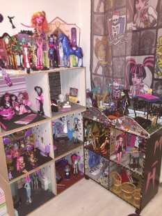 Kinderzimmer 'Emilias Monster High Paradies'