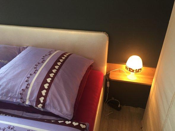 Schlafzimmer 'Unser Leoparden - Nestchen '