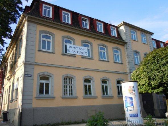 restaurierte Fassade