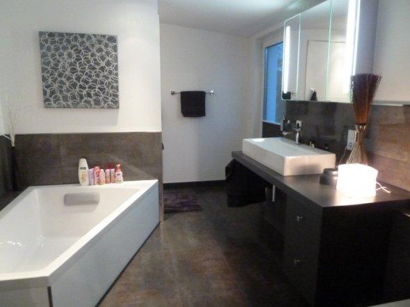badezimmer braun wei, bad braun grau ~ alles über wohndesign und möbelideen, Design ideen