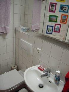 bad 39 g ste wc 39 unser landh uschen zimmerschau. Black Bedroom Furniture Sets. Home Design Ideas