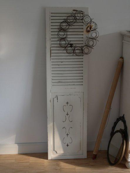 Deko dekorationen in shabby chic landhausstil und vintage - Fensterladen vintage ...