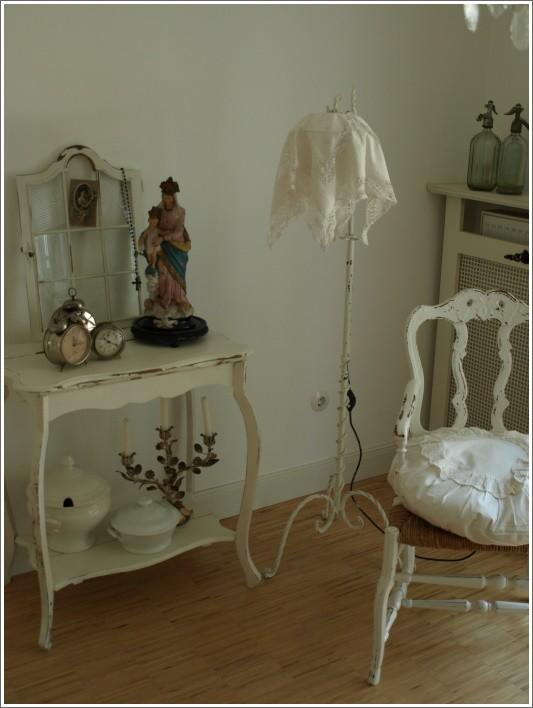Deko 39 dekorationen in shabby chic landhausstil und vintage 39 unser zuhause zimmerschau - Deko vintage shabby chic ...