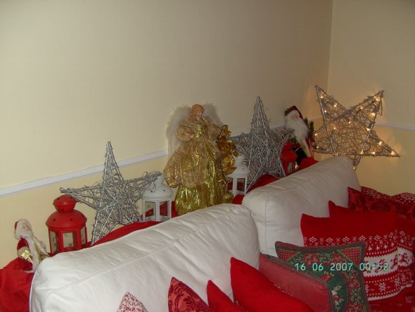 Wohnzimmer 39 weihnachten 2009 39 weihnachten 2009 zimmerschau for Weihnachten wohnzimmer