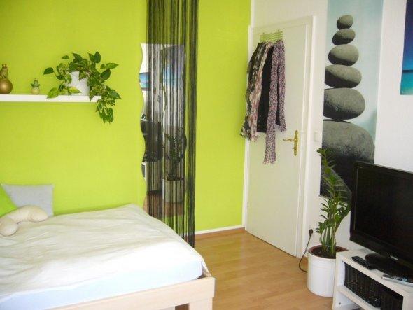 Schlafzimmer \'Mein grünes Zimmerchen \' - Mein Zimmerchen - Zimmerschau