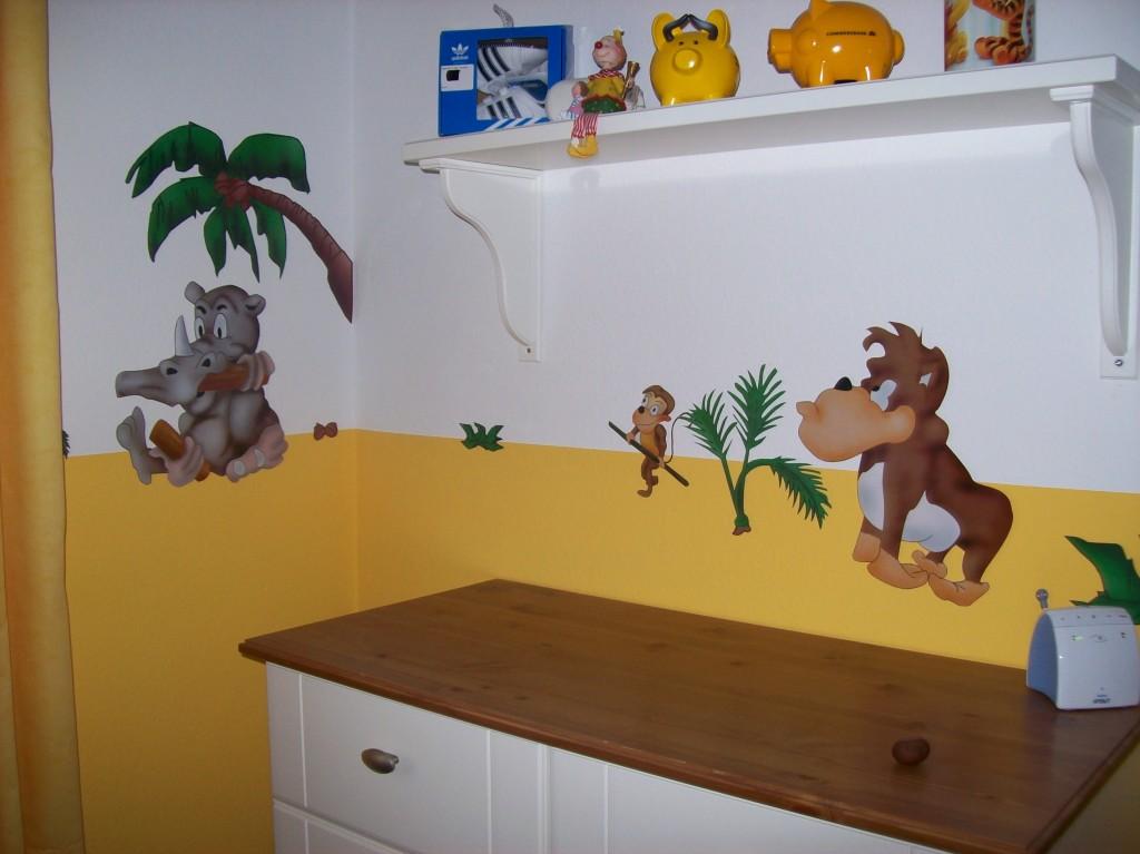 Kinderzimmer 39 baby safari 39 baby safari zimmerschau - Kinderzimmer safari ...