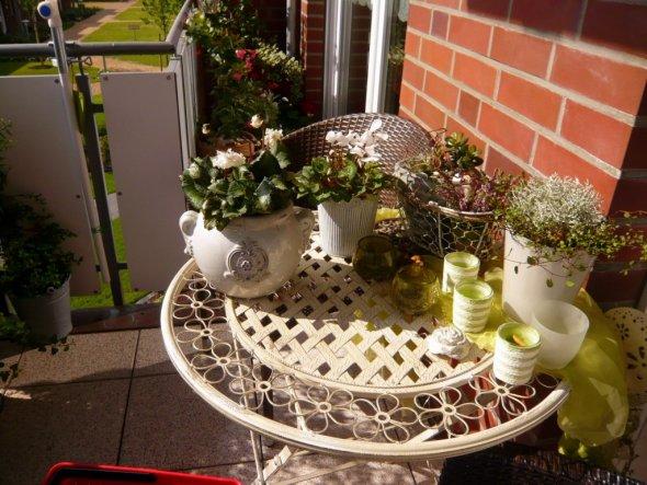 Terrasse / Balkon 'unterm Sonnenschein'