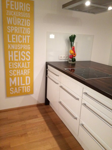 Küche, Deko