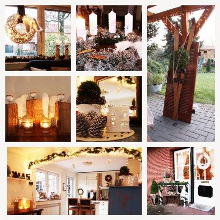 Weihnachtsdeko 'Joyeux Noel'