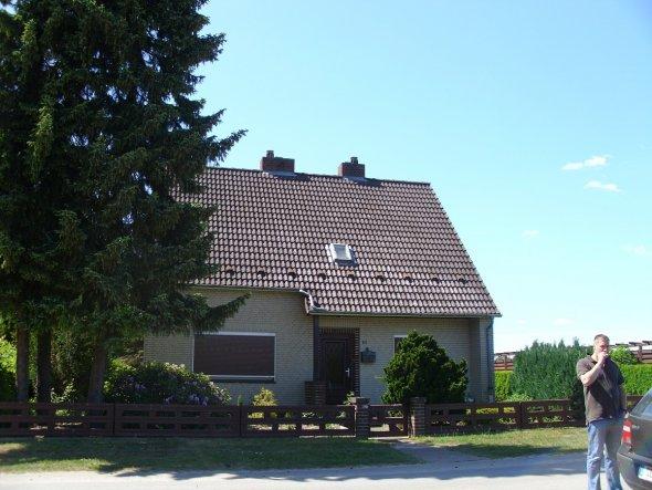 Hausfassade / Außenansichten 'Hütt in de Heid'