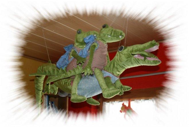 Fliegende Krokodile