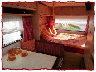 Wohnmobil 'Wohnwagen - nachher'