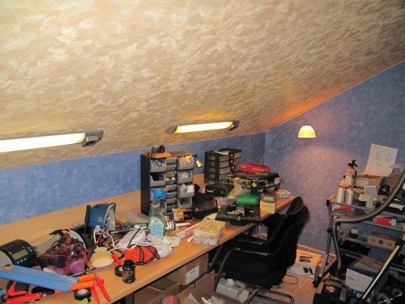 Wohnzimmer 'Mein Dachgeschoss'
